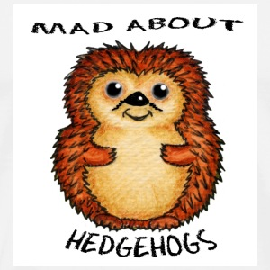 Mad About Hedgehogs Bag - Men's Premium T-Shirt
