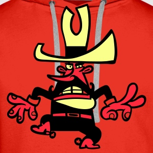 Red Sheriff Kid's Shirts  - Men's Premium Hoodie