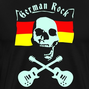 skull_germany  Aprons - Men's Premium T-Shirt