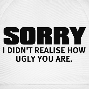 White Sorry Jumpers - Baseball Cap