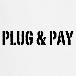 Weiß Plug & Pay© T-Shirts - Cooking Apron