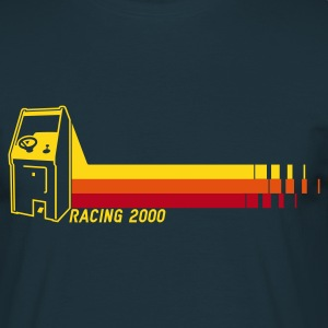 Navy Racing2000 Pullover - Männer T-Shirt