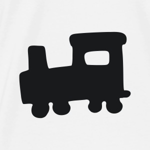 White train Accessories - Men's Premium T-Shirt