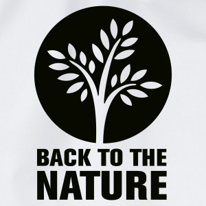 Weiß back2nature T-Shirts - Turnbeutel