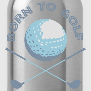 born_to_golf Magliette - Borraccia