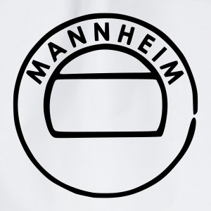 White Mannheim Accessories - Drawstring Bag