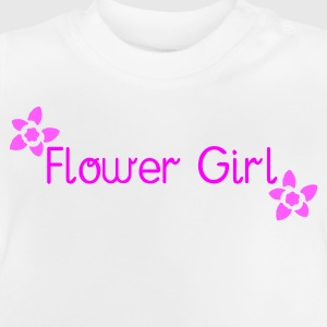 White Flower Girl (wedding) Kid's Shirts  - Baby T-Shirt