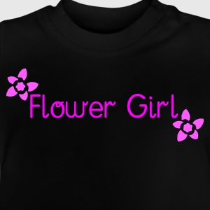 Black Flower Girl (wedding) Kid's Shirts  - Baby T-Shirt