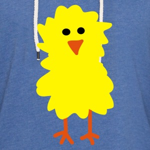 Easter Chick and Egg - Light Unisex Sweatshirt Hoodie