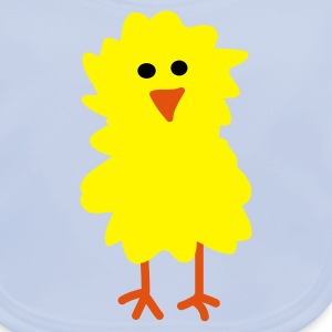 Easter Chick and Egg - Baby Organic Bib