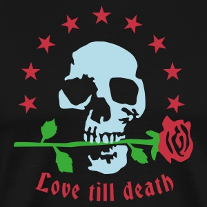 love_till_death_3  Aprons - Men's Premium T-Shirt