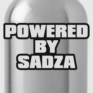 Black Powered By Sadza Jumpers - Water Bottle