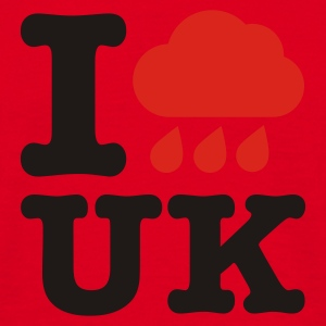 Red I @#$%  UK Umbrellas - Men's T-Shirt