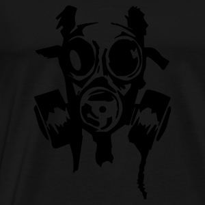 Sort bad_gasmask Sweatshirts - Herre premium T-shirt