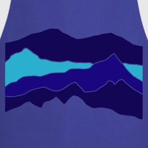 Red mountains Jumpers - Cooking Apron