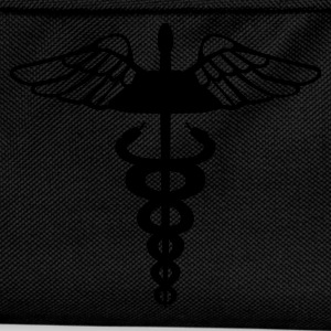 Black Caduceus - Medical Symbol Men's Tees - Kids' Backpack