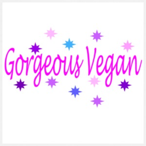 Gorgeous Vegan badge - Men's Premium T-Shirt