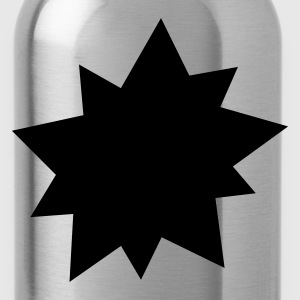 Black Explosion Star Bags  - Water Bottle