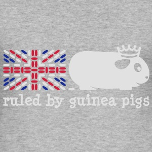 'Ruled by Guinea Pigs' Ladies Hoodie - Men's Slim Fit T-Shirt