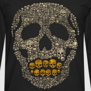 The Golden Skull - Men's Premium Longsleeve Shirt