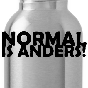 Normal ist anders! Pullover & Hoodies - Trinkflasche