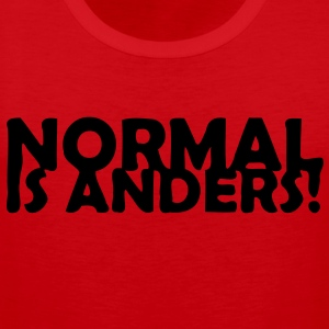Normal ist anders! Pullover & Hoodies - Männer Premium Tank Top