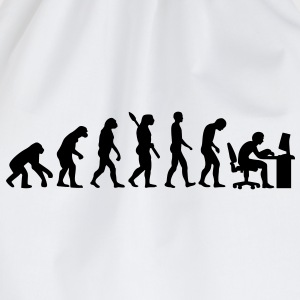 Evolution Büro Kinder T-Shirts - Turnbeutel