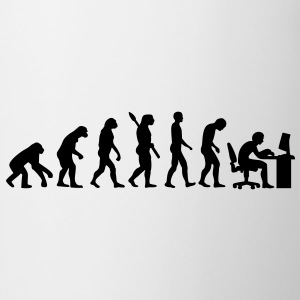Evolution Büro T-Shirts - Tasse