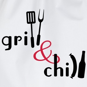 Grill and Chill T-Shirts - Turnbeutel