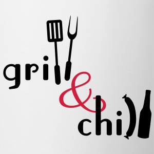 Grill and Chill T-Shirts - Tasse