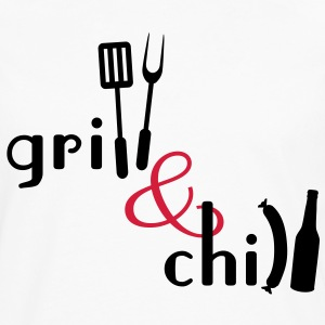 Grill and Chill T-Shirts - Männer Premium Langarmshirt