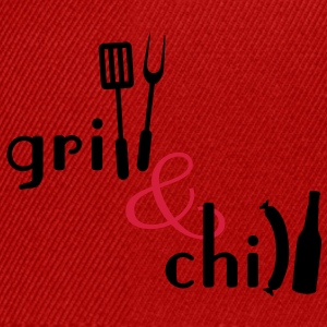 Grill and Chill  Aprons - Snapback Cap