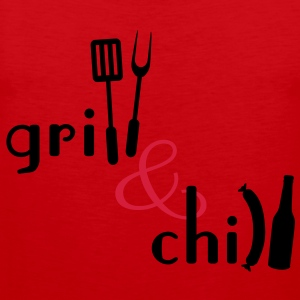 Grill and Chill Tabliers - Débardeur Premium Homme