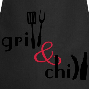 Grill and Chill T-Shirts - Cooking Apron