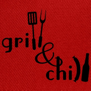Grill and Chill Tabliers - Casquette snapback