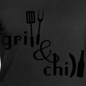 Grill and Chill Forklær - Sweatshirts for menn fra Stanley & Stella