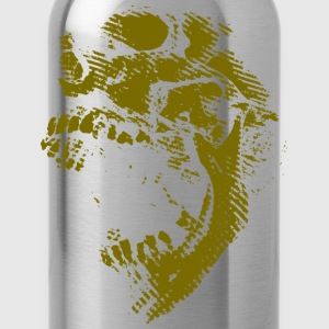 Gold Skull T-Shirts - Water Bottle