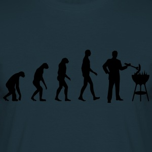 Evolution Grill  Aprons - Men's T-Shirt