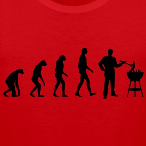 Evolution Grill  Aprons - Men's Premium Tank Top