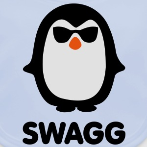 SWAGG Pinguin Kinder shirts - Bio-slabbetje voor baby's