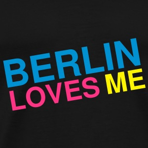 Berlin loves me Tasker - Herre premium T-shirt