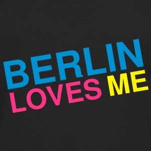Berlin loves me Vesker - Premium langermet T-skjorte for menn