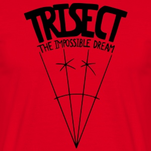 Trisect: The Impossible Dream  Aprons - Men's T-Shirt