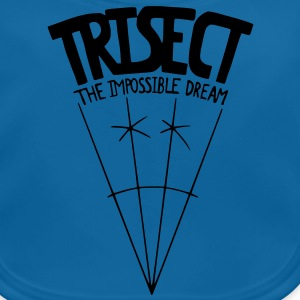 Trisect: The Impossible Dream Kids' Shirts - Baby Organic Bib