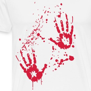 Blut - Serial Killer  Aprons - Men's Premium T-Shirt