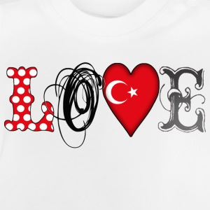 Love Turkey Black Shirts - Baby T-Shirt