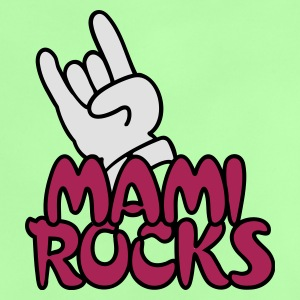 Green mami rocks (3c) Kid's Tops - Baby T-Shirt
