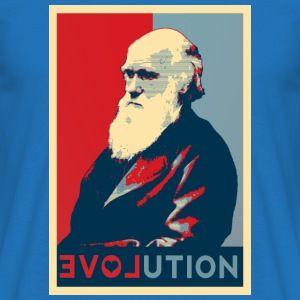 I love evolution - shopper - Maglietta da uomo