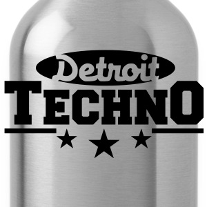 Detroit Techno__V003 T-shirt - Borraccia