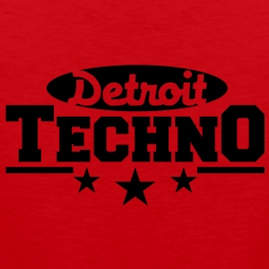 Detroit Techno__V003 T-Shirts - Men's Premium Tank Top